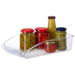 Organizer do lodówki pojemnik na żywność MAXI tacka 8x23x33cm