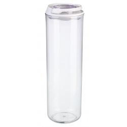 Okragły pojemnik na makaron plastikowy 1,75L zamykany Saver na klips