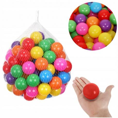 Piłeczki do placu zabaw 100 sztuk brodzika namiotu suchego basenu kolorowe