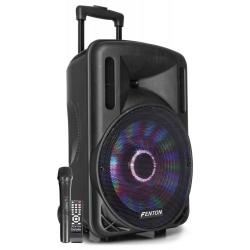 Mobilne nagłośnienie kolumna aktywna FENTON FT12LED światła LED Bluetooth