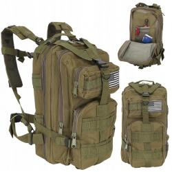 Plecak militarny taktyczny wojskowy survival 30L pojemny i wygodny