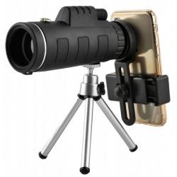 Obiektyw do telefonu smartfona teleskop luneta statyw zoom 50x