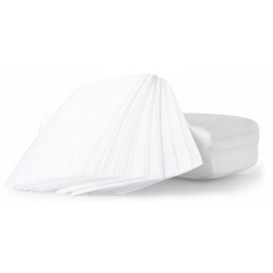 Paski fizelinowe do depilacji woskiem białe 100 sztuk 20cm