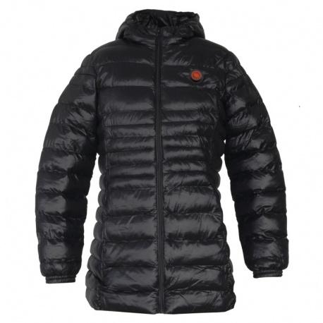 Ogrzewana kurtka damska grzejąca szara lub czarna M/L GTFBG GLOVii