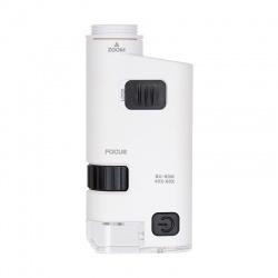 Mikroskop kieszonkowy z klipsem do smartphone Levenhuk Zeno Cash ZC12 oświetlenie LED powiększenie w zakresie od 40 do x60