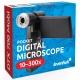 Przenośny cyfrowy mikroskop USB Levenhuk DTX 700 Mobi z wyświetlaczem LCD i kamerą 5 Mpix
