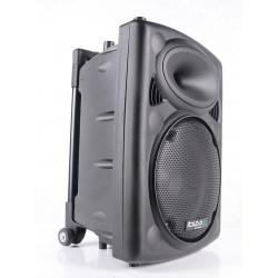 Przenośna kolumna mobilne nagłośnienie Bluetooth Ibiza Sound PORT10VHF-BT pokrowiec