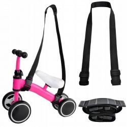 Pasek na rowerek do noszenia przypinany przenoszenia ciągnięcia rowerka biegowego
