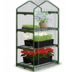 Szklarnia ogrodowa 69 x 49 x 125 cm Plonos na balkon półki do uprawy roślin
