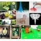 Długopis 3D drukarka szablony 155 metrów wkładów 31 filamentów Gratis
