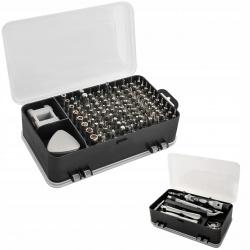 Zestaw narzędzi 110 szt wkrętaki precyzyjne narzędzia klucze torx bity CrV