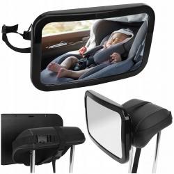 Lusterko do obserwacji dziecka w samochodzinie aucie na zagłówek