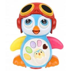 Pingwin edukacyjny zabawka dla dzieci pingwinek śpiewający tańczy