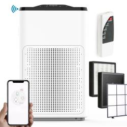 Oczyszczacz powietrza z wymiennym filtrem Air HEPA 13 Berdsen BR-3810 WiFi Smart Life
