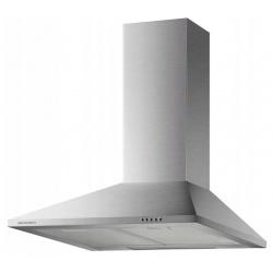 Okap kuchenny kominowy 60 cm ścienny INOX matowy rura filtr osłona