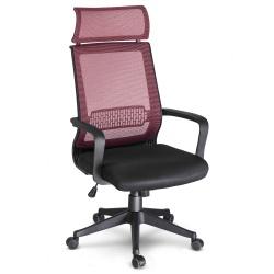 Fotel biurowy na kółkach krzesło obrotowe mikrosiatka mechanizm TILT kolory
