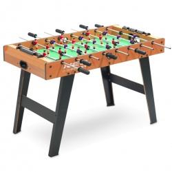 Duży stół do gry w piłkarzyki 102 x 65 cm MDF imitujący drewno NS-444