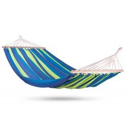 Hamak ogrodowy Bahama Double bujak 220 x 160 cm XXL dwuosobowy kolorowy bawełna