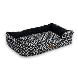 Legowisko dla psa kota ciepły materiał kojec kanapa Pethous 100 x 70 cm XL poduszka