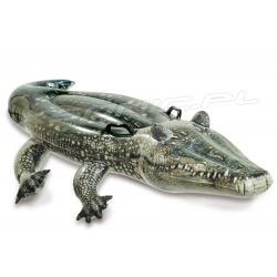 Dmuchany aligator do pływania 170 x 86 cm realistyczny krokodyl INTEX 57551