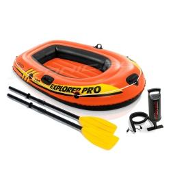 Jednoosobowy ponton dmuchany Explorer PRO100 160 x 94 x 29cm INTEX 58355