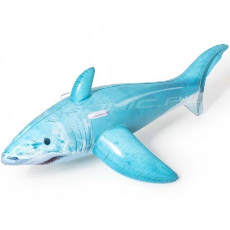 Zabawka dmuchana Rekin do pływania z uchwytami 183 x 102 cm Bestway 41405