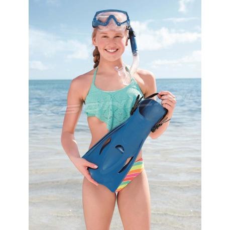 Zestaw do nurkowania płetwy rozmiar 41-46 maska rurka Bestway 25020
