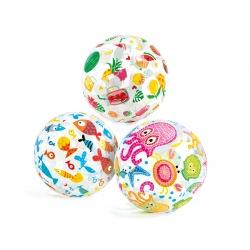 Dmuchana piłka plażowa do zabawy dla dzieci 51 cm INTEX 59040