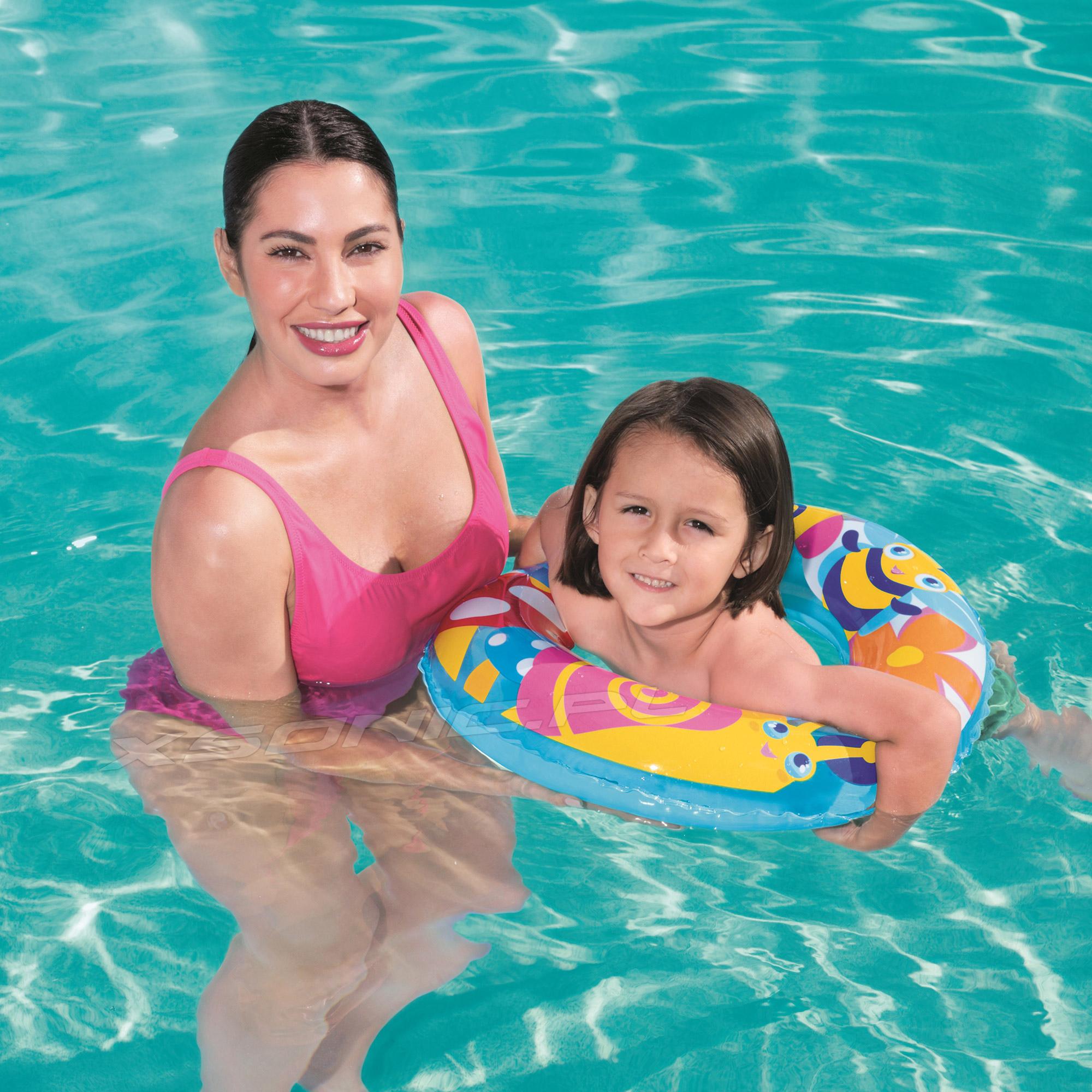 Dmuchane kółko do pływania dla dzieci 56 cm Bestway 36013