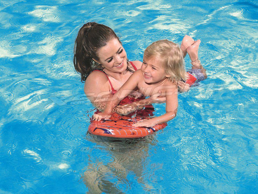 Deska z pianki do nauki pływania dla dzieci 42 x 32 cm Bestway 32155