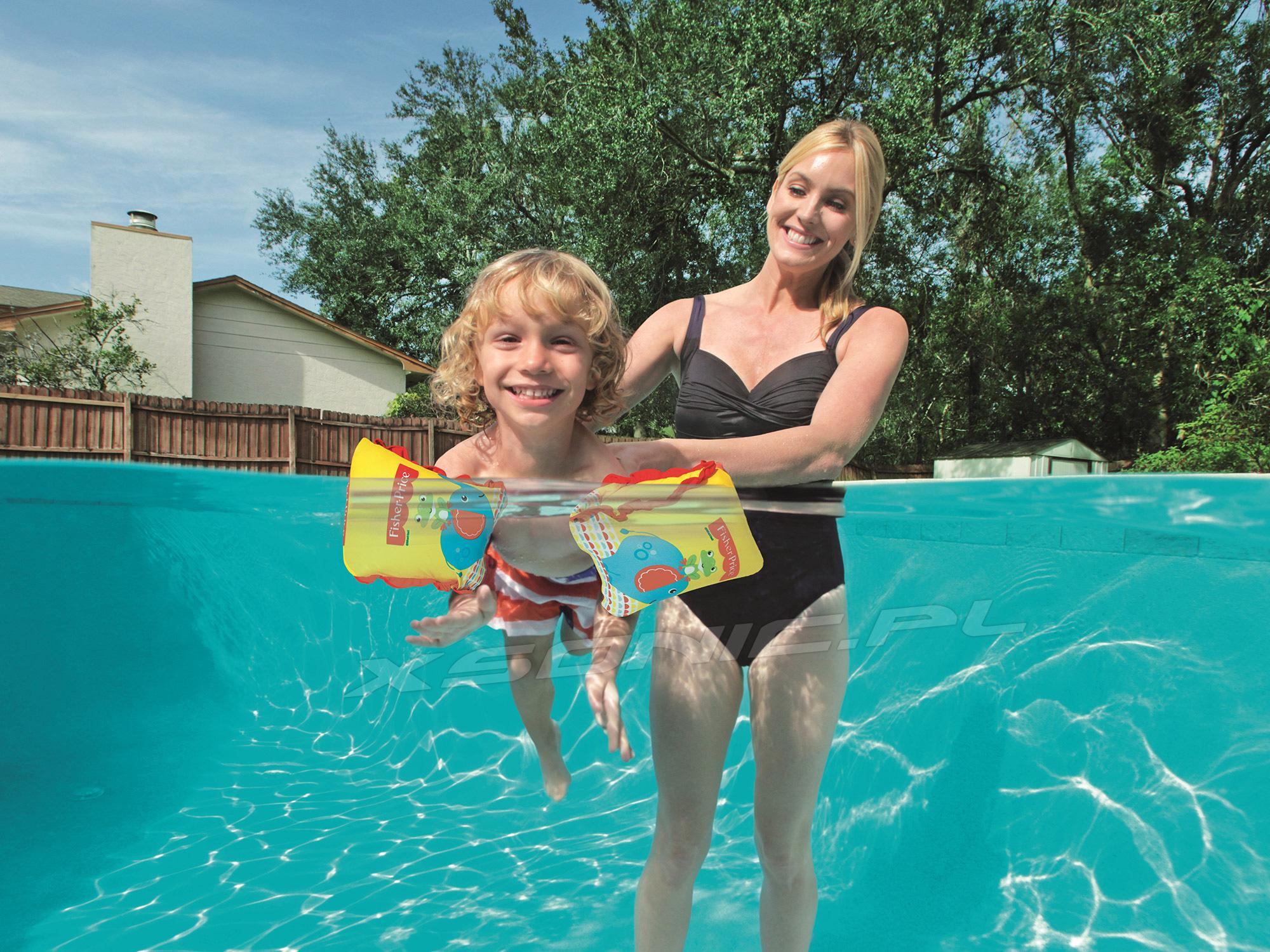 Rękawki do pływania dla dzieci Fisher Price Bestway 93525 dwa rozmiary M/L