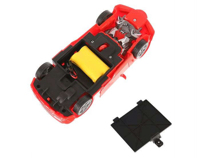 Zdalnie sterowany samochód 2 samochody składane bojowe robot pilot