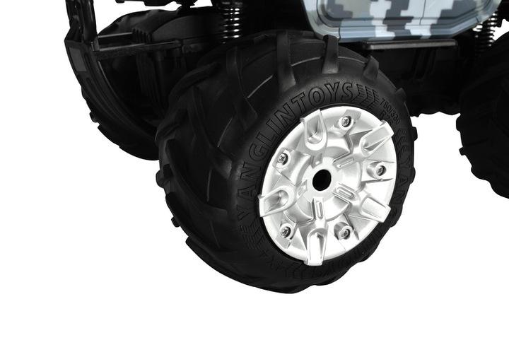Wojskowy samochód zdalnie sterowany RC Monster Truck armatka strzelająca wodą
