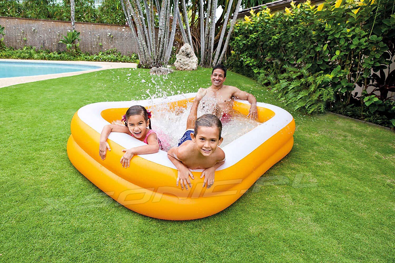 Prostokątny basen dmuchany 229 x 147 x 46 cm dla dzieci Intex 57181