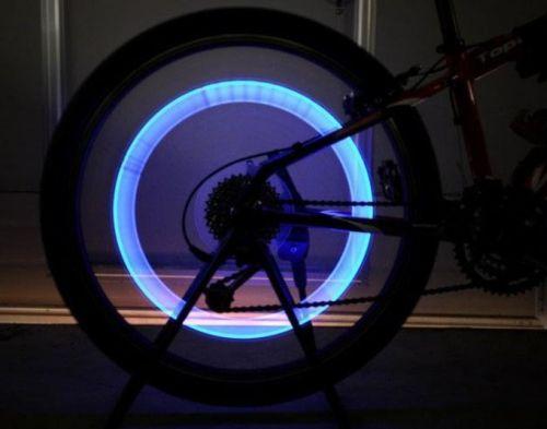 Lampka rowerowa na szprychy LED neon rowerowa nakładka na koła