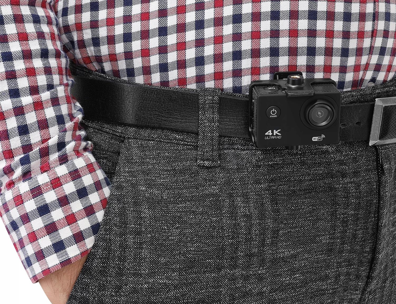 Kamera sportowa 4K WiFi wododporna obudowa uchwyty karta pamięci 32GB KAMERA na pasku
