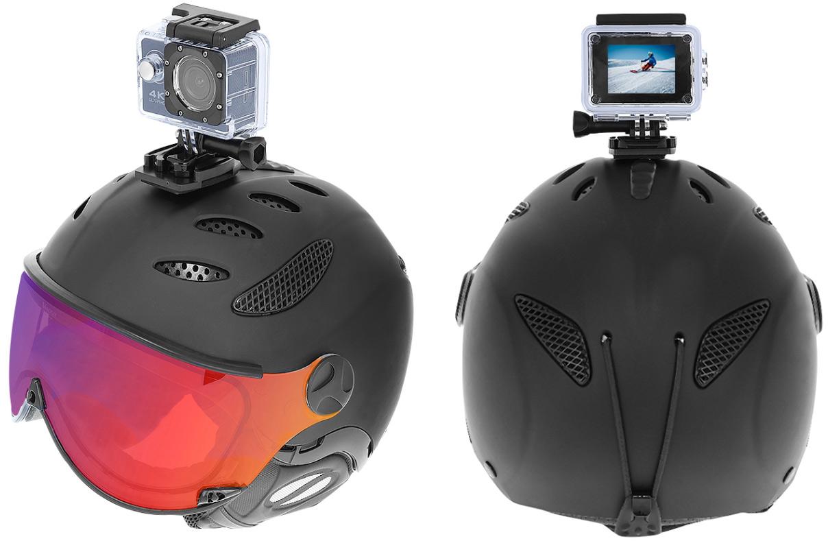 Kamera sportowa 4K WiFi wododporna obudowa różne uchwyty i mocowania karta pamięci 32GB