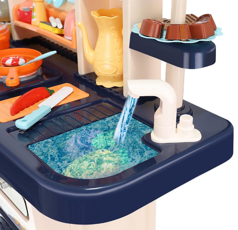 Kuchnia dla dzieci zabawkowa XXL kran z wodą