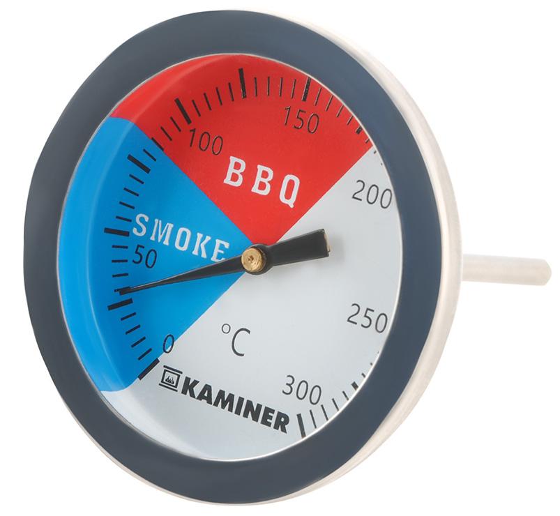 Termometr do grilla i wędzarni pieczenia oraz wędzenia BBQ z gwintem