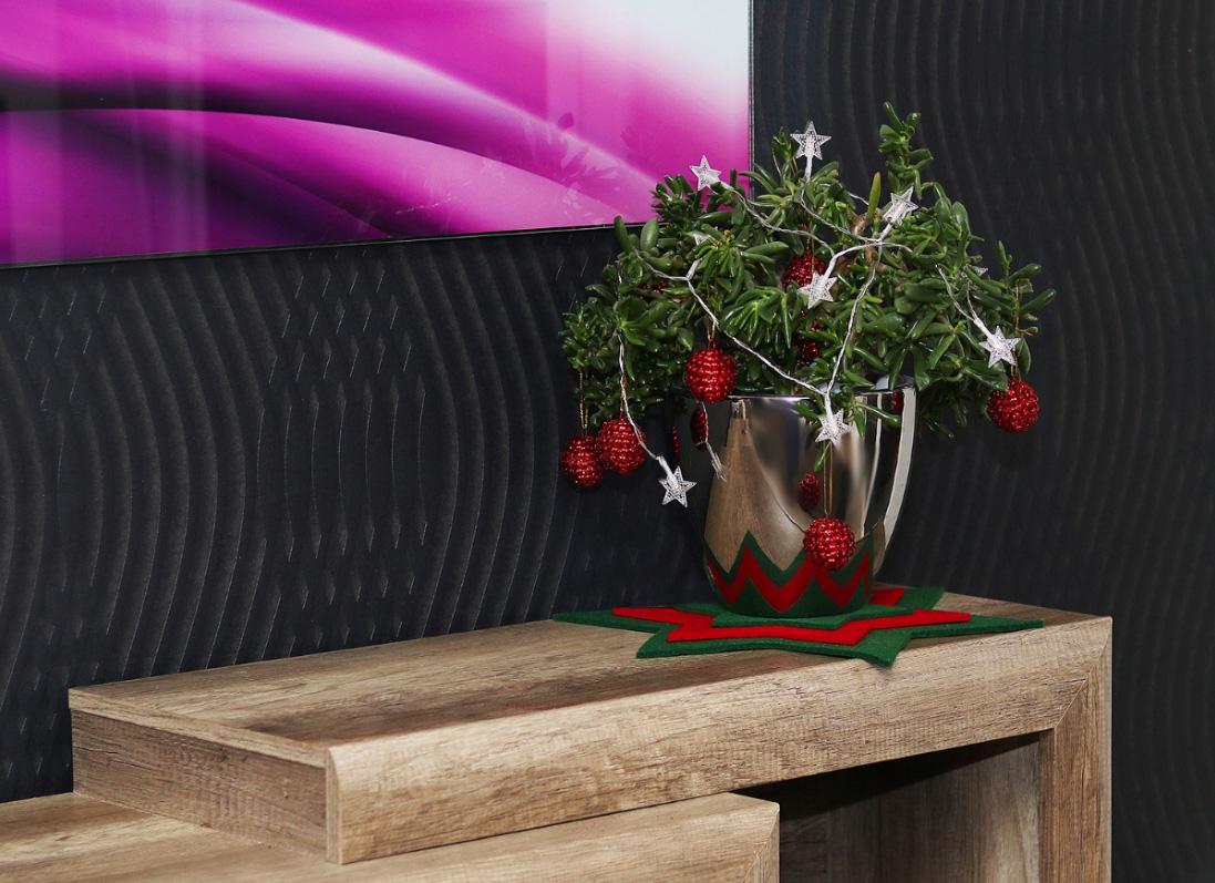 Lampki choinkowe 10 LED na baterie gwiazdki dekoracja do kwiatów pokoju