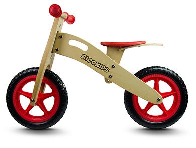 Drewniany rowerek biegowy RETRO