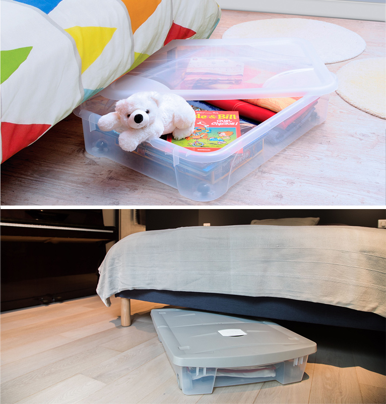 Skrzynie na kółkach doskonałe na zabawki i rzeczy osobiste do sypialni i pokoju dziecięcego
