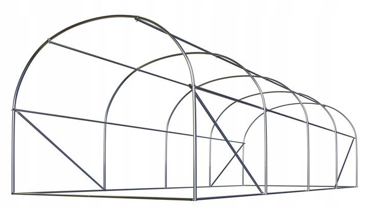 Szklarnia ogrodowa 2 x 4,5 x H2m 9m2 tunel foliowy ogrodniczy