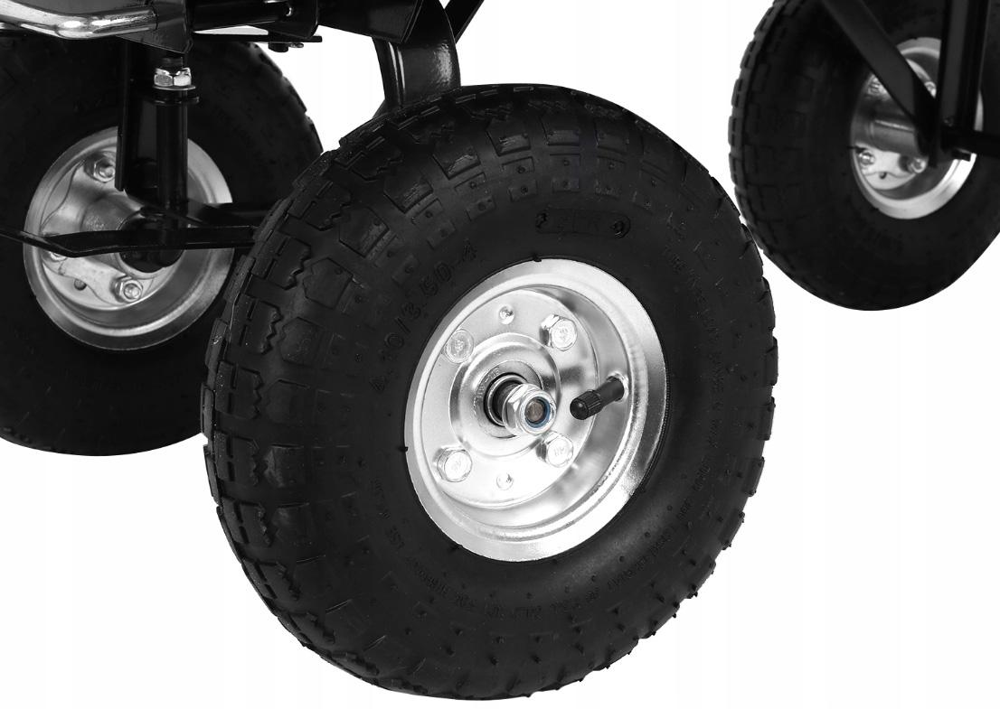 Taczka wózek ogrodowy transportowy ogrodniczy wywrotka do 350kg