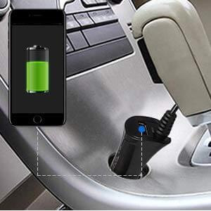 Bezprzewodowa kamera cofania Mistral z monitorem AUTO-VOX TD-2 z USB
