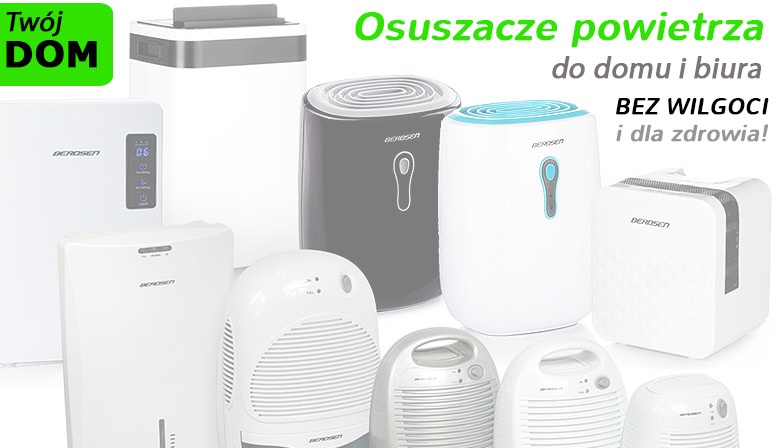 Osuszacze powietrza - pozbądź się wilgoci w domu lub w biurze